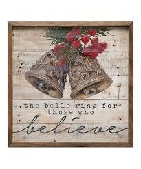 who believe bell wall art