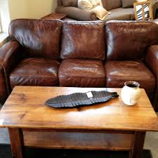 Incredible Rustic Leather Sectional With Chaise Chair Settee