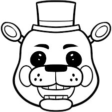 Toy Golden Freddy Colouring Pages Get Coloring Pages