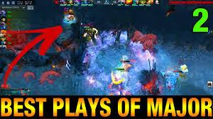 the best plays of major kiev major vol 2 dota 2 youtube