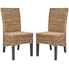 safavieh home collection na brown and natural side chair set of 2