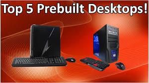 top 5 prebuilt desktops under 1 000