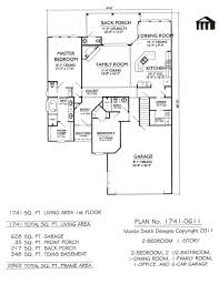 Modern 2 Bedroom House Plans 2 Bed 2 Bath House Plans Contemporary Style House Plan 3 Bedroom