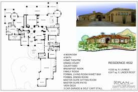 smart house plans galleries luxury house 5000 square foot house plans