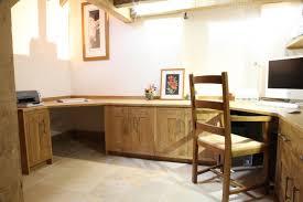 bespoke home office. bespoke home office in english oak