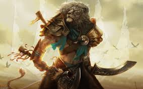 wallpaper of the week ajani mentor heroes magic gathering