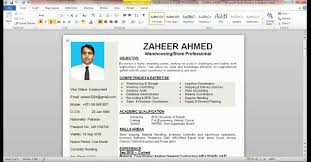 how to make cv or resume in how too make a resume