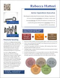 Infographic Resume Examples Re Investment Exec Png Template Free