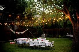 outdoor party decorations pinterest backyard party lighting