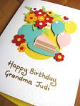 Подделки бабушке на день рождения своими руками