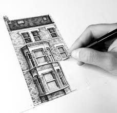 architecture buildings drawings. London Houses Architecture Buildings Drawings M