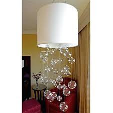 glass globe chandelier rh