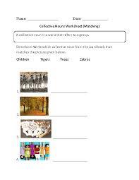 Nouns Worksheets | Collective Nouns Worksheets