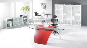 office furniture glass. White Glass Office Desk - Home Design Ideas And Pictures Furniture H