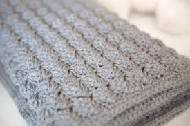 Quick And Easy Crochet Blanket Patterns Interesting Quick And Thick Baby Blanket AllFreeCrochetAfghanPatterns
