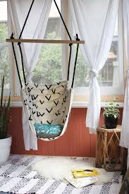 Swinging Chairs For Bedrooms Hammock Chair Diy A Beautiful Mess