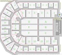 detailed seat numbers chart showing rows and blocks layout liverpool echo arena seating plan