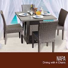 square dining table for 4. Espresso Napa Square Dining Table With 4 Chairs - For S