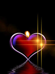 Image result for candle light heart photo