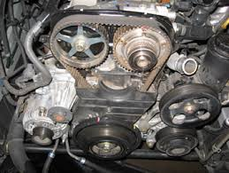 engine maintenance timing belt replacement on lexus gs 300s photo 2 color coding the timing marks will help avoid confusion
