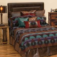 wooded river painted desert ii bed linens