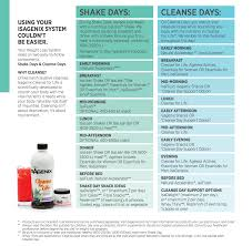 Isagenix Meal Chart Isagenix Cleanse Day Tips Benefits Planner