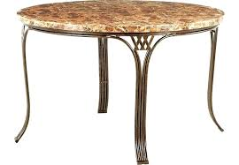 wood and metal round dining table round metal dining table metal round dining table tables regarding