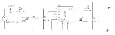wiring diagram 5v solar battery charger circuit diagram 1055 12v battery charger circuit diagram with auto cut-off at Solar Battery Charger Wiring Diagram