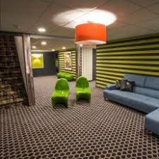 office adas features lime. bold green and black playroom with contemporary denim sectional office adas features lime