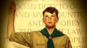 norman rockwell boy scout paintings
