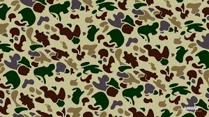 Bape Pattern Stunning BAPE Wallpapers Group 48