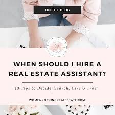When Should I Hire A Real Estate Assistant Jennifer Percival Real