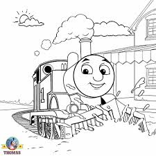 Thomas Train Coloring Pages For Kids Get Coloring Pages