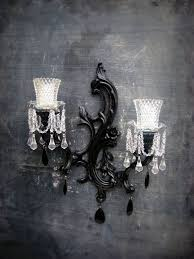 vintage sconce wall chandelier candle by smallvintageaffair