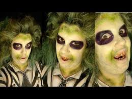 beetlejuice makeup tutorial with body paint this is really cool