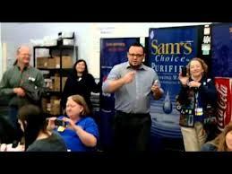 Manager Cj Sings Blue Christmas Dec 20 2013 Skiatook Walmart Youtube