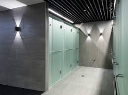 fitness first showers update of frameless frosted glass