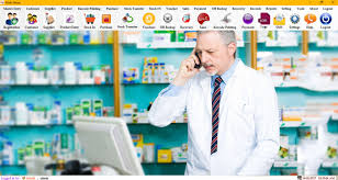 pharmacy management system by vaibhav patidar click here to see a screenshot of this code