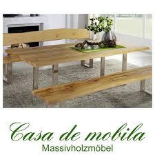 Massivholz Tisch Excellent Hochtisch Bartisch In Eiche Ausfhrung