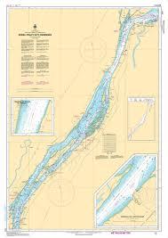Lac Des Iles Depth Chart Chs Nautical Chart Chs1311 Sorel Tracy A To Varennes