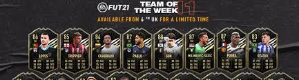 FIFA 21 - 91 Salah and more highlights in TOTW 11! - FIFA