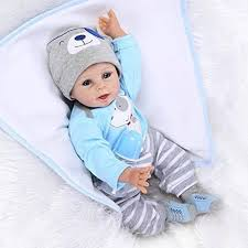 Dollshow Real Life Baby Alive Silicone Boy Reborn Dolls Adorable ...