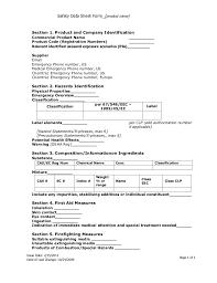 osha form 174 msds form template connie dello buono 2012