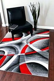 red black area rugs and gray solid pattern cotton rug amazing white woven retro regarding gra red and gray area rugs s black white