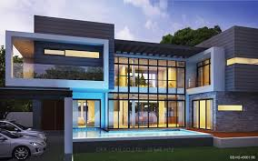 Wonderful modern house design thailand 39 samujana villa 1