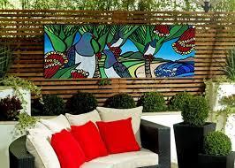 outside wall art nz