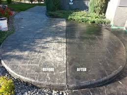 concrete driveway or patio
