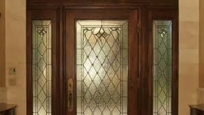 park city entryway stained glass doors
