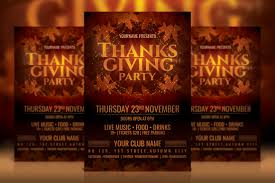 thanksgiving party flyer 50 best photoshop party flyer templates decolore net