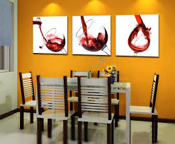 com spirit up art large red wine gl picture painting on canvas print stretched and framed ready to hang modern home decorations wall art set